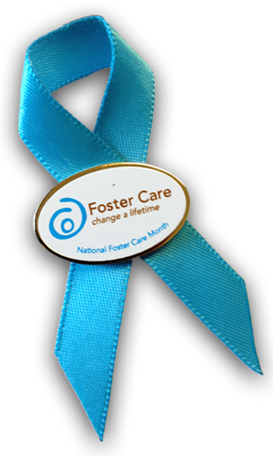 National foster care month ribbon